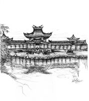 Japanese Palace by sebgouveia