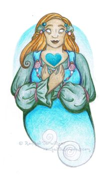 Blessed Sigyn by rachelillustrates