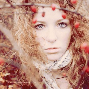 she is Autumn by Malvina-Frolova