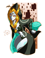 Let's doodle! - Midna by DarkRinoa88