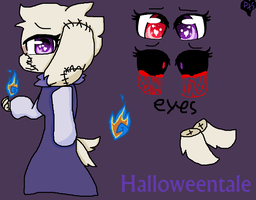 HalloweenTale Tori by RDPen20