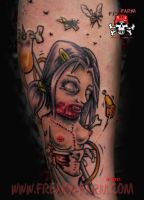 Dark D. - Beer Zombie Bitch by D-D-Tattoo