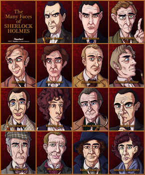 The Many Faces of Sherlock Holmes - Complete by FilmmakerJ