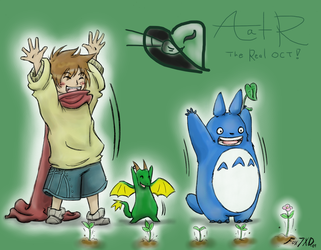AatR- Let's Plant a New World by Fox7XD