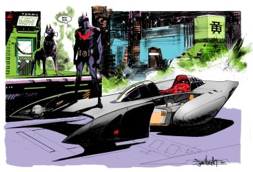 Seangordonmurphy's Batman Beyond by WilliamRushing