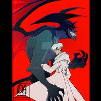 devilman by idaida-art