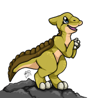 Land Before Time's Ducky by KuraisCreatures