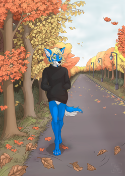 Walking on a path of memories by Tora-Tikel