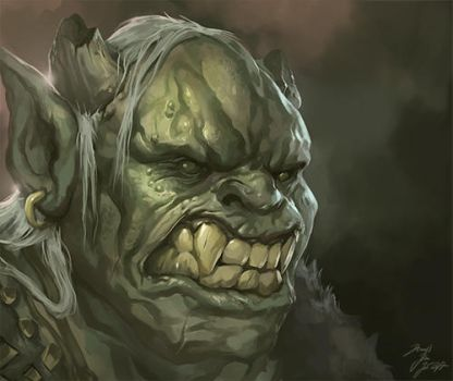 Orc by JB-Charakterdesign