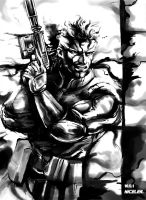 SOLID SNAKE MGS1 by niceler