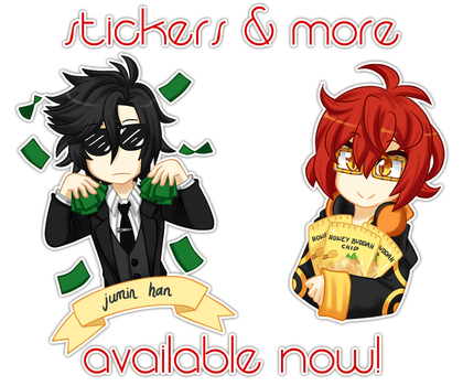 Stickers and More Available! by VIMYO