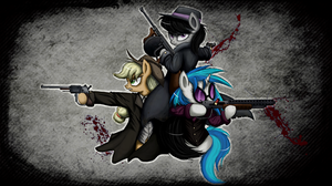 Equestrian Gangster [Grunge] by Quent0S