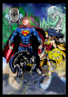 Justice League by Abylaikhan