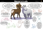 Goats and Sheep, Sheep and Goats! by comixqueen