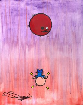 Balloon Abduction by Filofax
