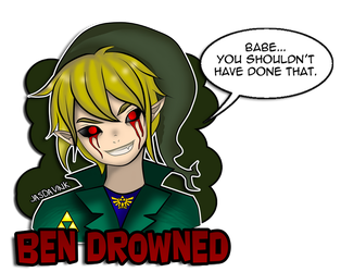 Ben Drowned by Dav-Ink