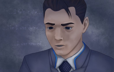 Detroit: Become Human - Connor by VulpineFlame