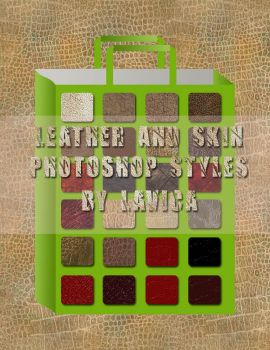 Leather and Skin Styles .asl by Lavica-Photoshop