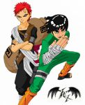 Gaara and Rock Lee Coloured by l3xxybaby