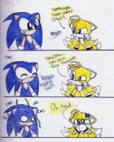 Sonic hates Water right? by fansonic