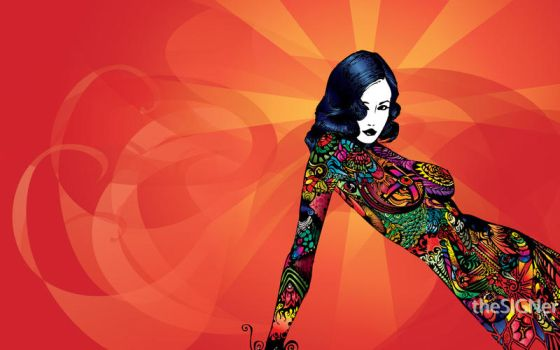 Dita's wallpaper by theSIGNer