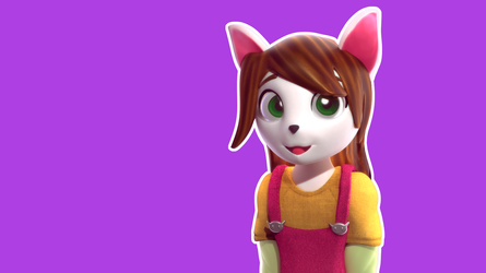 Lupe -  3D Sculpting attempt by ArceDeer