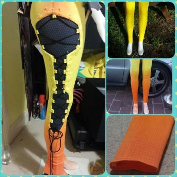 OVERWATCH - Tracer cosplay [progress] by Vera-Chimera