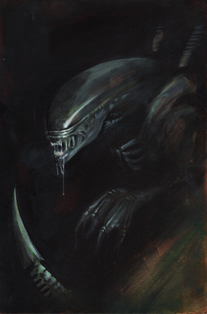 Alien by Wes-StClaire