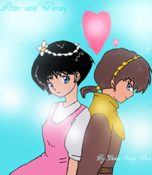 Peter and Wendy by PeterSassyPan
