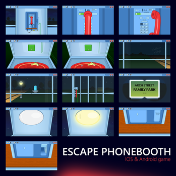 Escape Phonebooth Game by dxgraphic