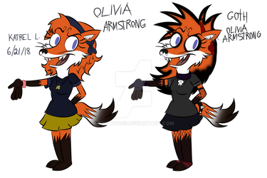Olivia Armstrong Ref by K9X-Toons-n-Stuff