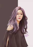 [PAINTING] Irene - Red Velvet by TieuVo