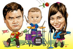 Family Rock by IborArt