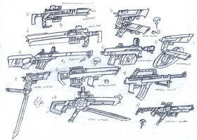 The Guns of Elarus concept page 001 by PaperMintMachineGun