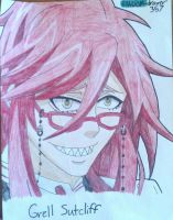 Grell Sutcliff by RANDOM-drawer357
