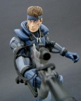 Solid Snake 2 by Jin-Saotome