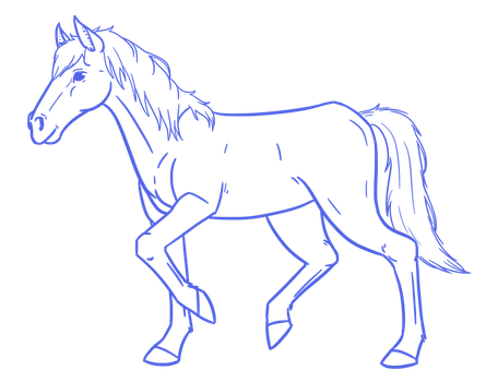 Free to use ~ Horse base by Avajes