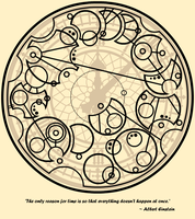 Gallifreyan 018 - Albert Explains Time (redux) by ThorUF72