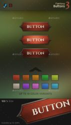 Fantasy Button 3 by Evil-S