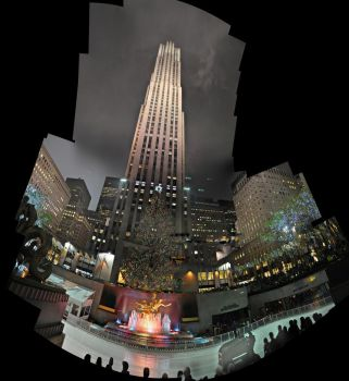Rockefeller Center by bbisme