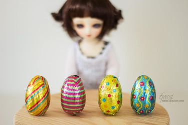 Easter chocolate by chazzi