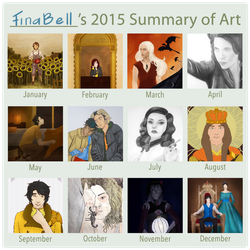 Summary of art: 2015 by FinaBell