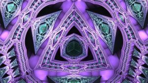 Cathedral of the TetraPrism.HyperCube by geisty