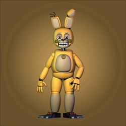 Toy Springtrap | Model by BlackiieProductions