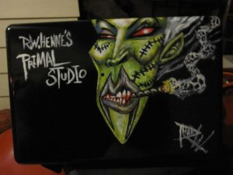 Laptop painting finished by 4956