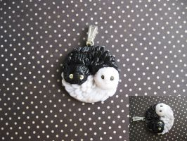 Ying Yang owls by Redilion