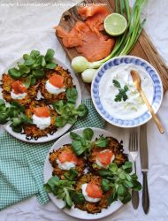 Spring veggie fritters by SunnySpring
