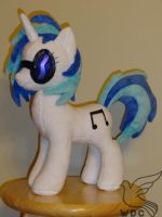Vinyl Scratch, DJ Pon by WhiteDove-Creations