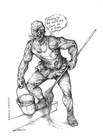 THE TOXIC AVENGER by TheWoodenKing