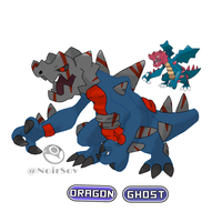 Ghostober Day 5: Druddigon